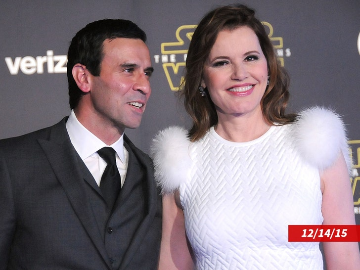 Geena Davis Concedes in Divorce Case She Lied to Oprah about Marriage