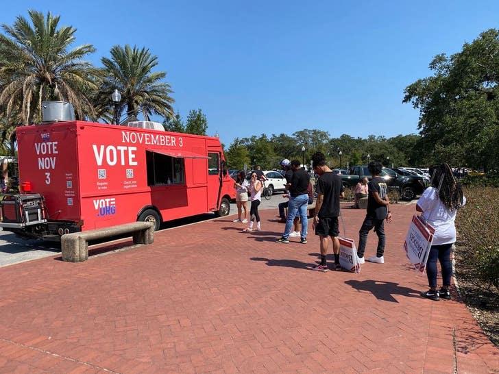 Vote.Org Food Truck
