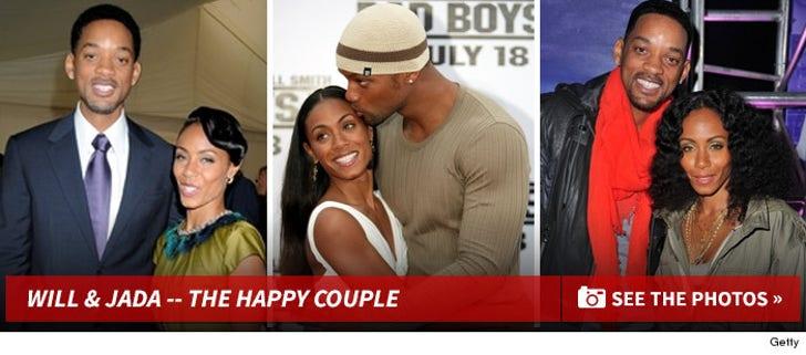 Will Smith and Jada Pinkett Smith -- The Happy Couple