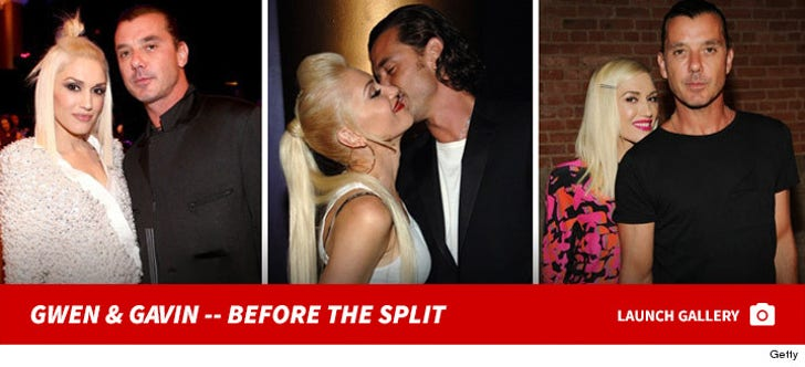 Gwen Stefani & Gavin Rossdale -- Before the Split