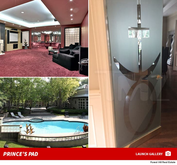 Prince's Toronto House -- For $ale!