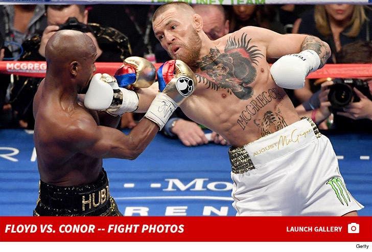 Mayweather vs. McGregor -- Fight Photos