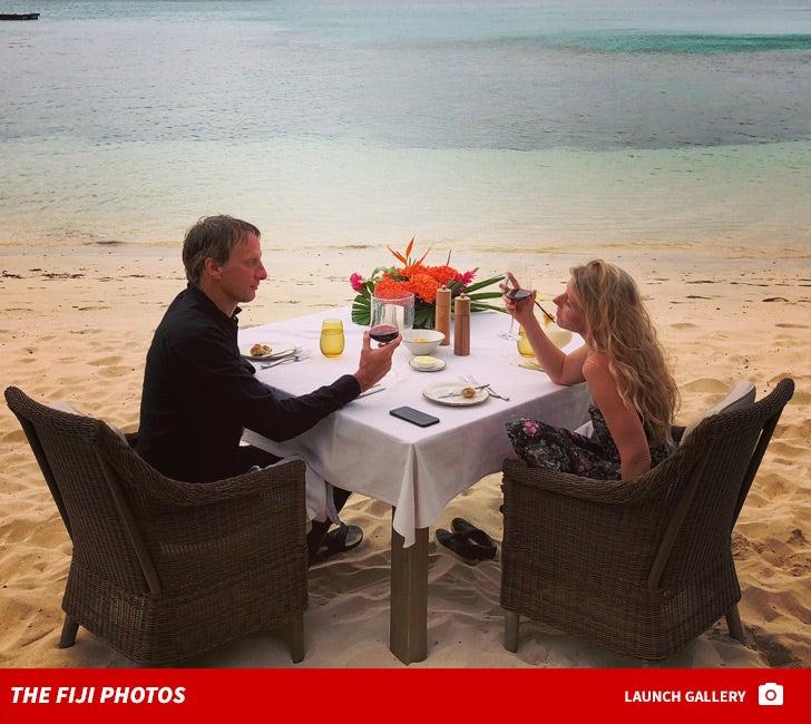 Tony Hawk -- Fiji Vacation Photos