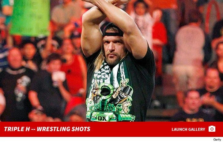 Triple H -- Wrestling Shots