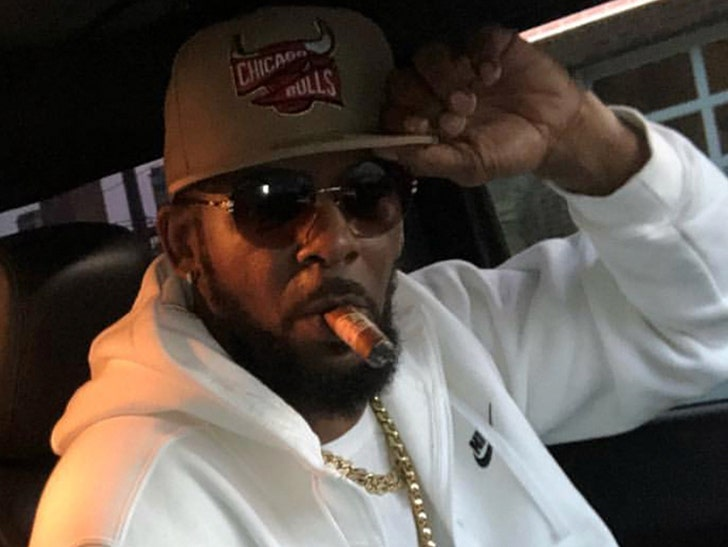 R  Kelly Associate is Person of Interest in Shooting Threat at