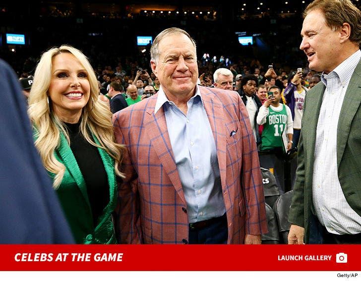 Lakers vs. Celtics -- Celebs at the Game
