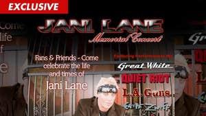 Warrant Singer Jani Lane -- Mystery Note Found at Death Scene
