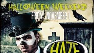 Chris Brown -- L.A./Vegas Halloween Parties Go Down in Flames