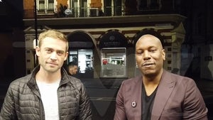 Tyrese Teams Up with Paul Walker's Brother for FuelFest in UK