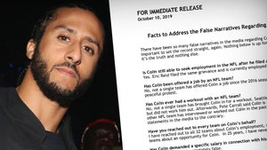 Colin Kaepernick Releases 'Fact Sheet,' Let's Cut the BS