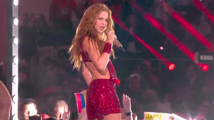 Shakira's tongue was the meme of Super Bowl night