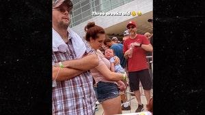 Woman Brings Newborn Baby to Trump's Tulsa Rally, No Mask