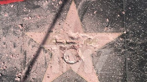 Trump's Hollywood Walk of Fame Star Destroyed By Man Dressed as Hulk