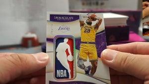 Fan Pulls Ultra-Rare LeBron James Jersey Card, Immediately Gets Massive Offers