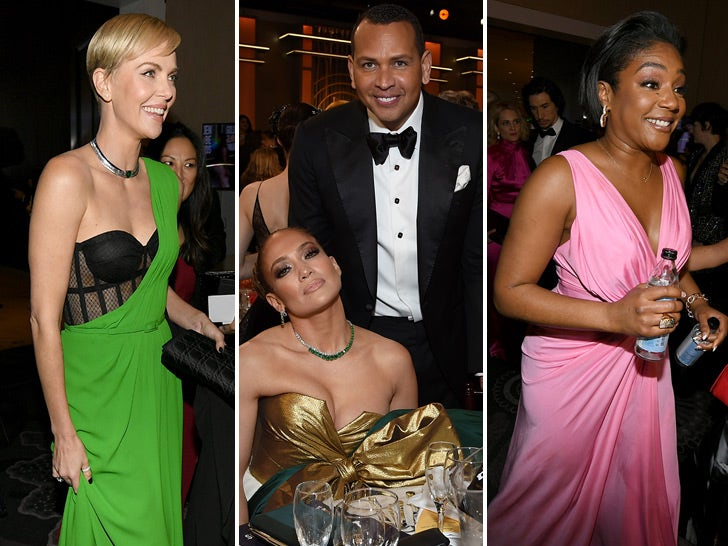 Golden Globe Awards 2020 -- Behind The Scenes Photos