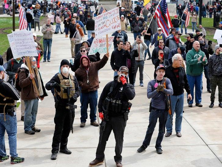 Michiganders Against Excessive Quarantine Protest
