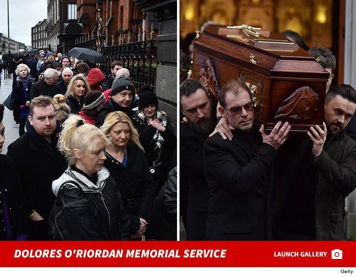 Dolores O'Riordan Memorial Service