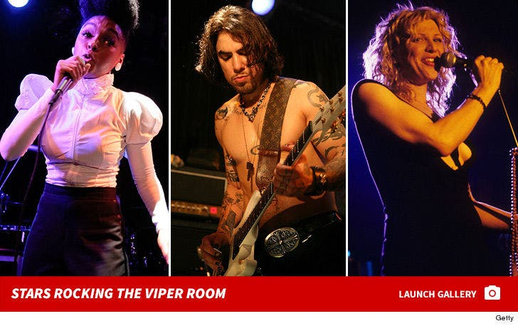 Stars Rocking at The Viper Room