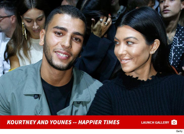 Kourtney Kardashian and Younes Bendjima Together