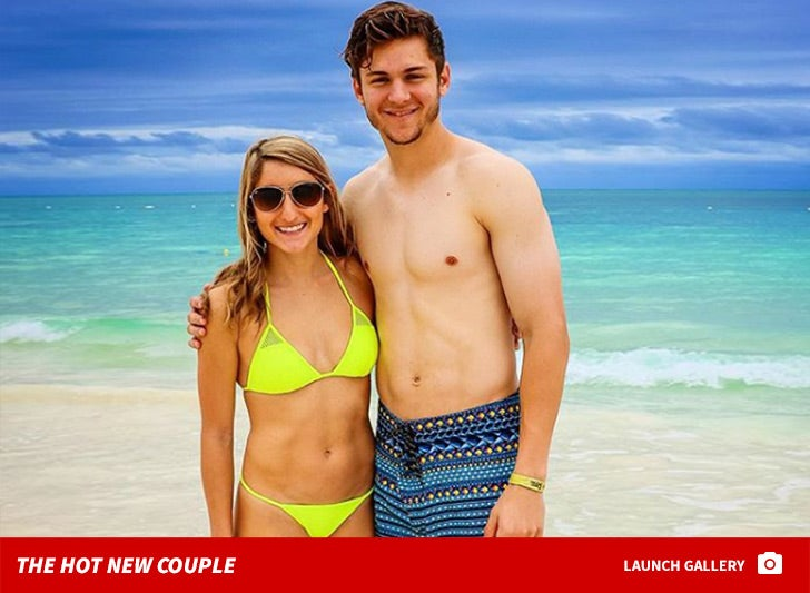 Trea Turner and Kristen Harabedian -- The Hot New Couple