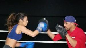 'Amazing Race' Bikini Model Trains with Boxing Champ (VIDEOS)
