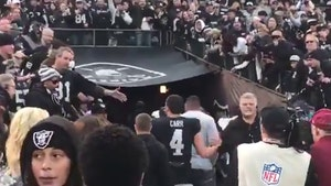 Derek Carr Booed Off Field In Trash-Throwing Finish To Raiders' Loss