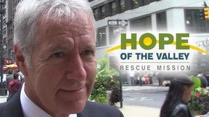 Alex Trebek Donates $500k to New Homeless Shelter in San Fernando Valley