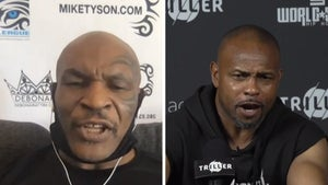 Mike Tyson and Roy Jones Jr., We're Gonna Try and Kill Each Other, Period
