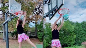 Patrick Mahomes' Brother, Jackson, Shows Off Insane Basketball Skills, Dunk Show!
