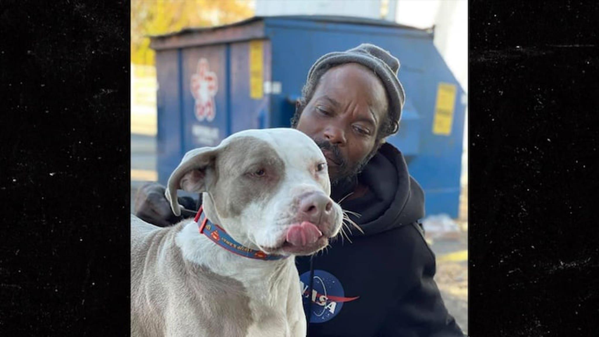 Бездомный человек из Атланты, спасший животных, получил помощь с жильем