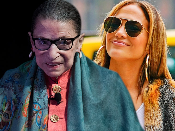 Jennifer Lopez Asked Ruth Bader Ginsburg For Marriage Advice! Yes, Really!