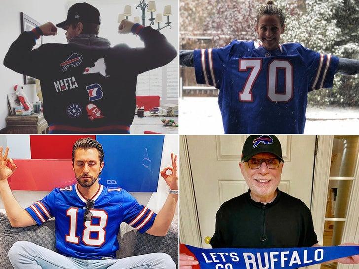 Famous Bills Fans