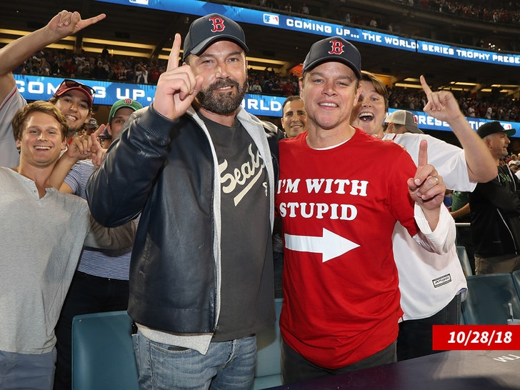 Matt Damon and Ben Affleck -- Best Friends Forever