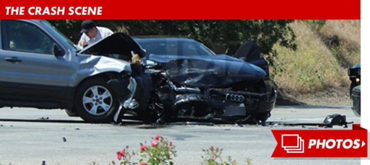 Kendra Wilkinson Wreck -- The Crash-termath