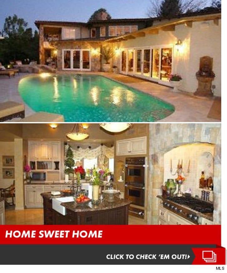 Gilbert Arenas' New Home