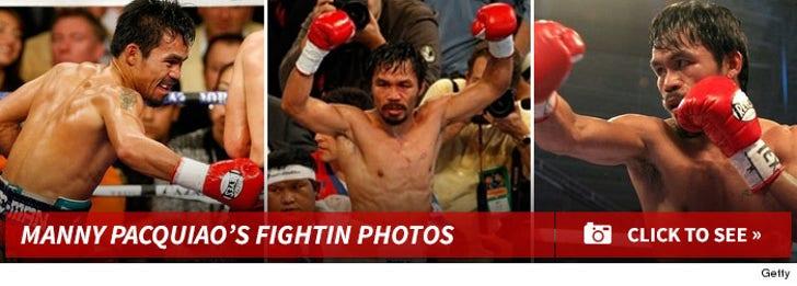 Manny Pacquiao's Fightin' Photos