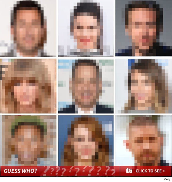 Celeb Pixels -- Guess Who!