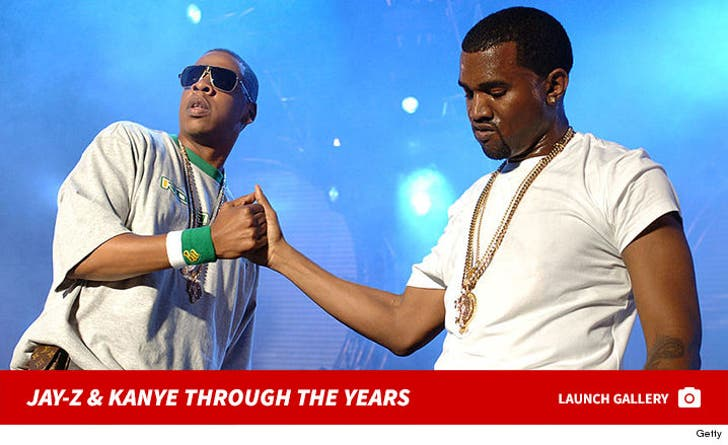 Jay-Z and Kanye Through The Years