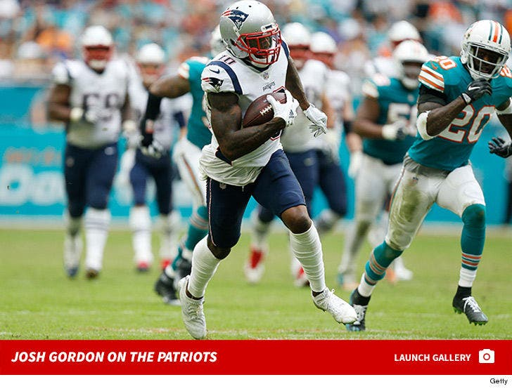 Josh Gordon on the Patriots