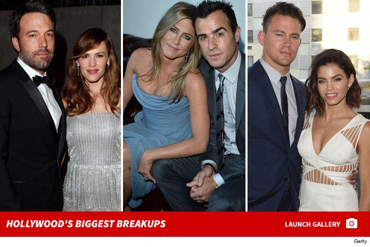 Hollywood's Biggest Breakups