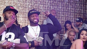 50 Cent -- Never Too Broke For Strippers (PHOTOS)