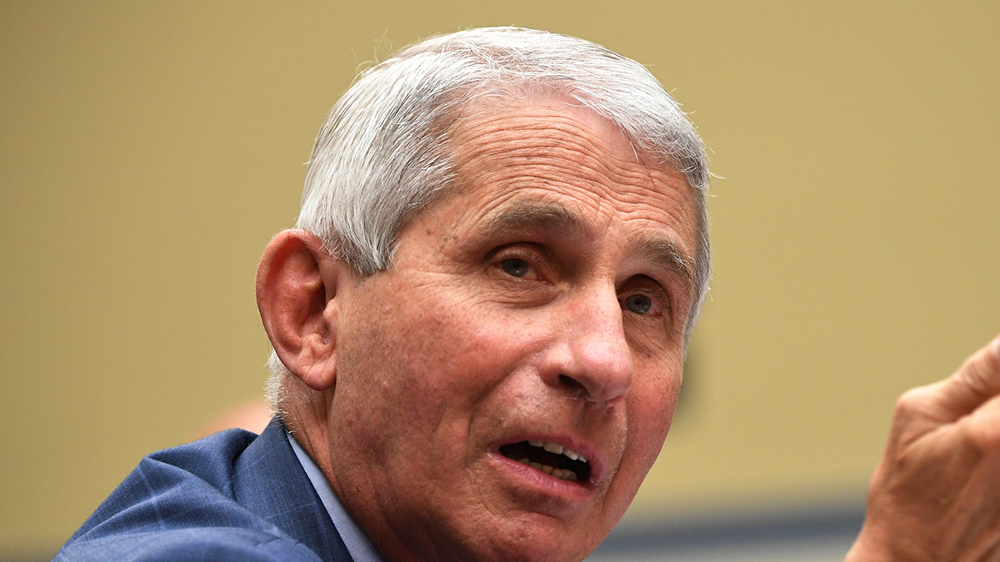 Dr. Fauci Opens Up on Death Threats ... Once Covered in Powder from Suspicious Letter
