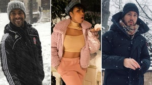 Stars Stuck In Snow -- Catchin' The Cold!
