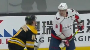 Alex Ovechkin Fined $5k After 'Spearing' Bruins Player's Groin