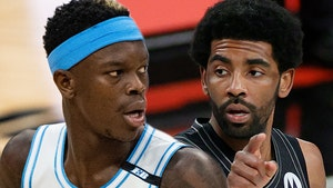 Lakers' Dennis Schroder Boycotting Kyrie Irving Shoes After Altercation