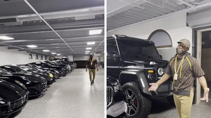 Floyd Mayweather Shows Off Insane Car Collection, Royces, Lambos & Maybachs!