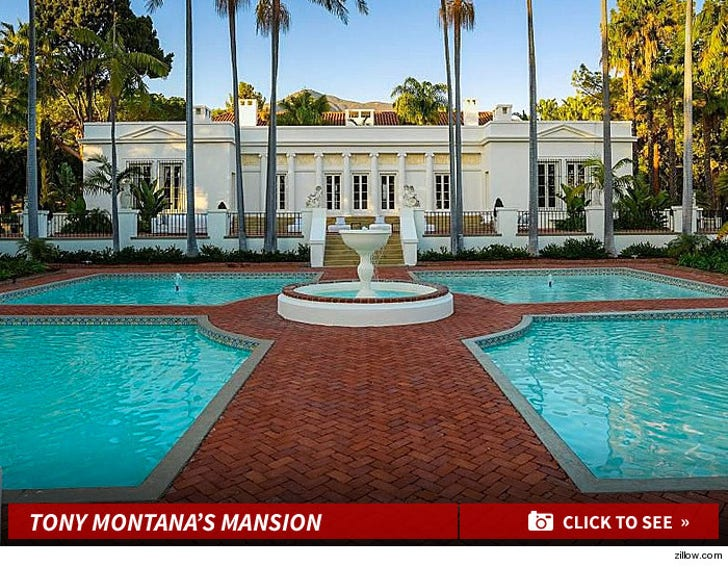 'Scarface' Mansion -- Say Hello To My Little $35M Friend