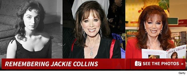 Remembering Jackie Collins