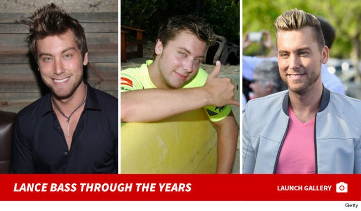 Lance Bass -- Through the Years
