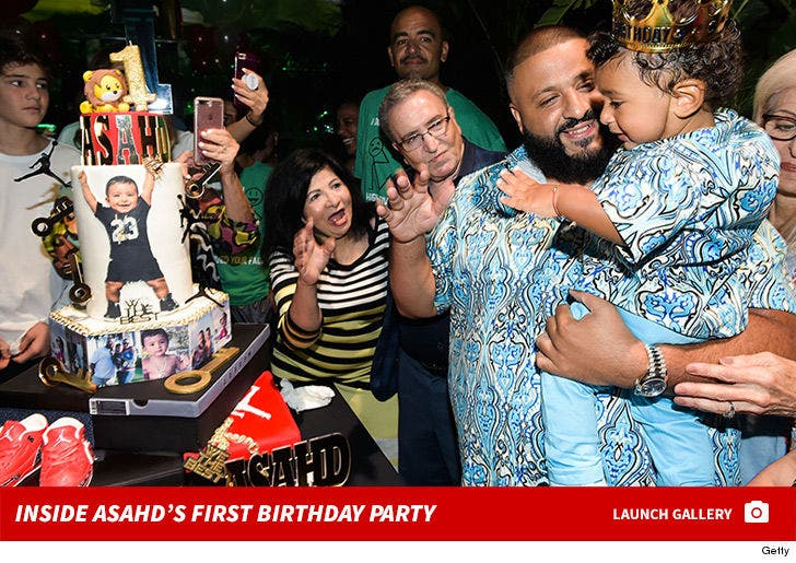 Inside Asahd's First Birthday Party